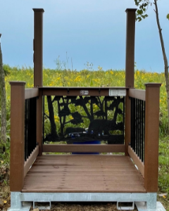 Sporting Clay Shooting Stands